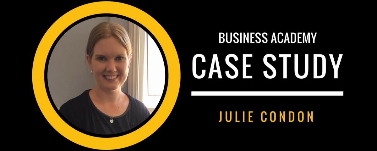 JULIE CONDON CASE STUDY