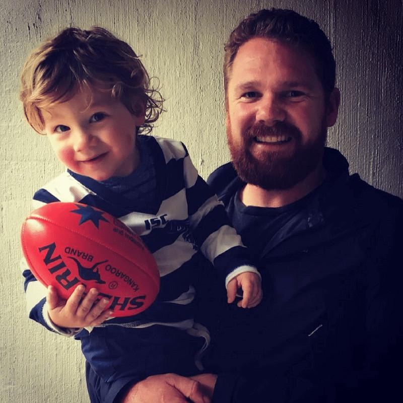 Shane Loves Geelong FC