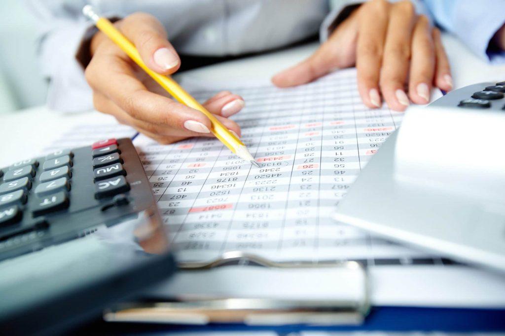 accounting calculating
